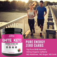 Load image into Gallery viewer, Ignite Keto BHB Exogenous Ketones - Wild Berry + Caffeine