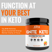 Ignite Keto BHB Exogenous Ketones - Citrus Splash