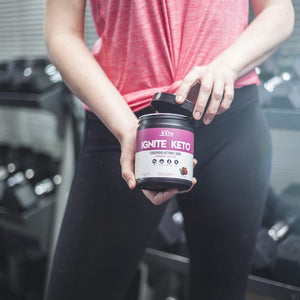 NEW! Ignite Keto BHB Exogenous Ketones - Wild Berry + Caffeine