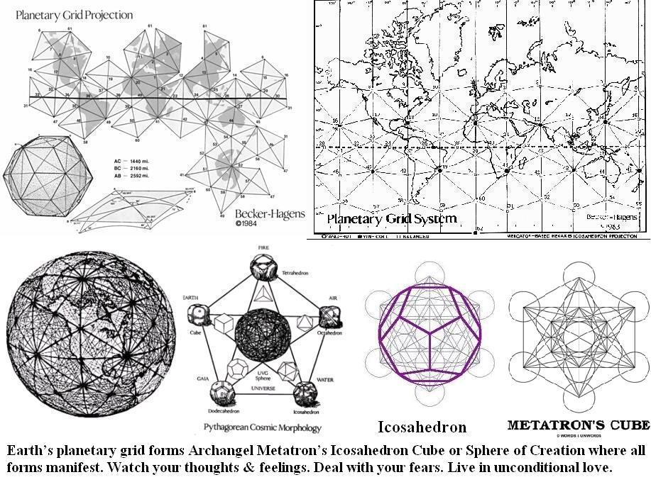 Sacred Geometry in Earth's Planetary Grid