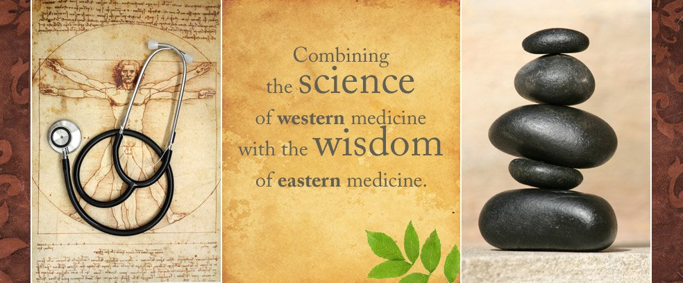 West Meets Eastern Medicine