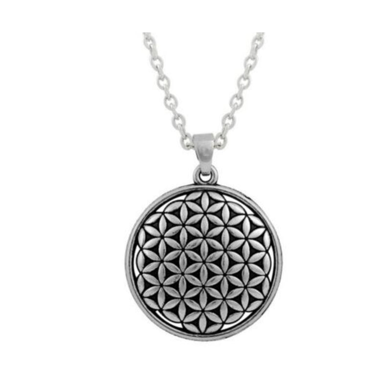 Flower of Life Necklace, , Merkaba Chakras - Metaphysic Products, Services, & Accessories Store