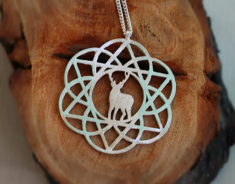 Star of David Flower of Life Pendant for Protection in the Wilderness, , Merkaba Chakras - Metaphysic Products, Services, & Accessories Store