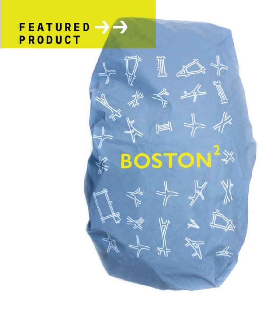 Boston Squared Backpack Cover