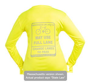 Women's Long-Sleeve Cycling Shirt - Universal