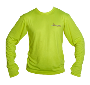 Men's Long-Sleeve Cycling Shirt - Massachusetts