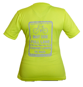 Women's Short-Sleeve Cycling Shirt - Massachusetts