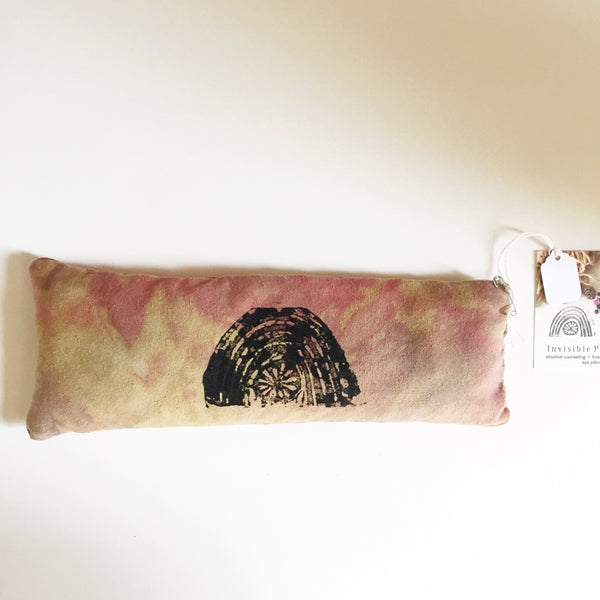 Botanical Silk Eye Pillow