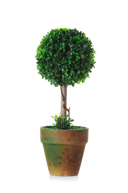 artificial topiary tree