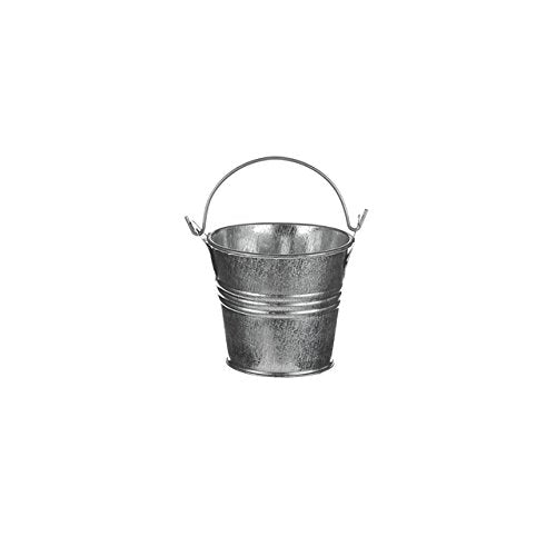 small zinc bucket wedding favors