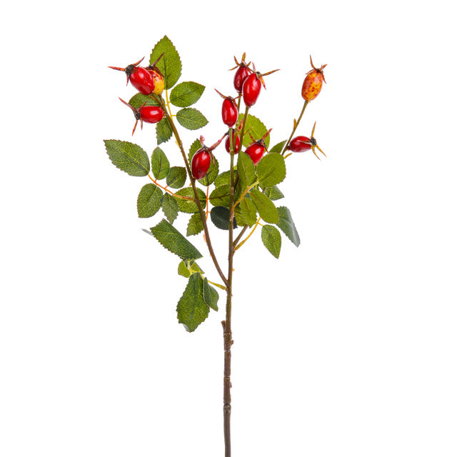 artificial rose hips