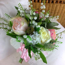 artificial lily of the valley bouquet