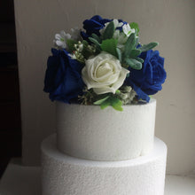 artificial flower cake topper