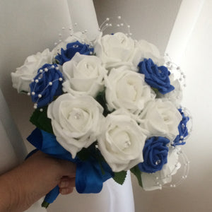 a bouquet collection featuring foam roses in a choice of over 35 colours