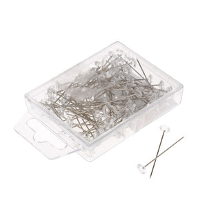 a pack of 100 acrylic diamante pins