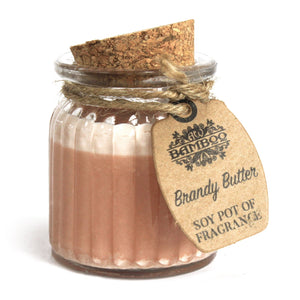 brandy butter soywax candle