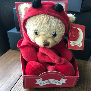 valentine little devil teddy bear