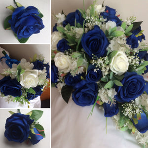 teardrop bouquet wedding collection