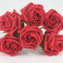 - A brides posy bouquet of foam roses - choice of over 35 colours
