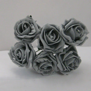 A brides posy bouquet of foam roses - choice of over 35 colours