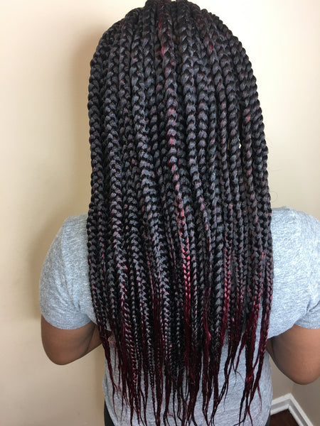 Medium Box Braids Sadesapphire