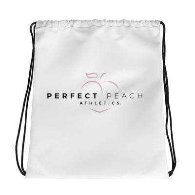 Perfect Peach Athletics Drawstring Bag