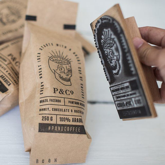 The best solution for affordable packaging? Rubber Stamps