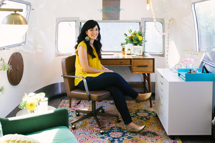 Our Airstream Home Office