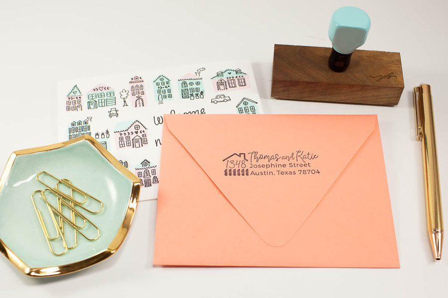 Our First Home - Custom Rubber Stamps