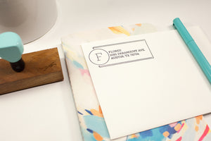 Industrial Address - Custom Rubber Stamps