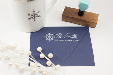 Snowflake - Custom Rubber Stamps