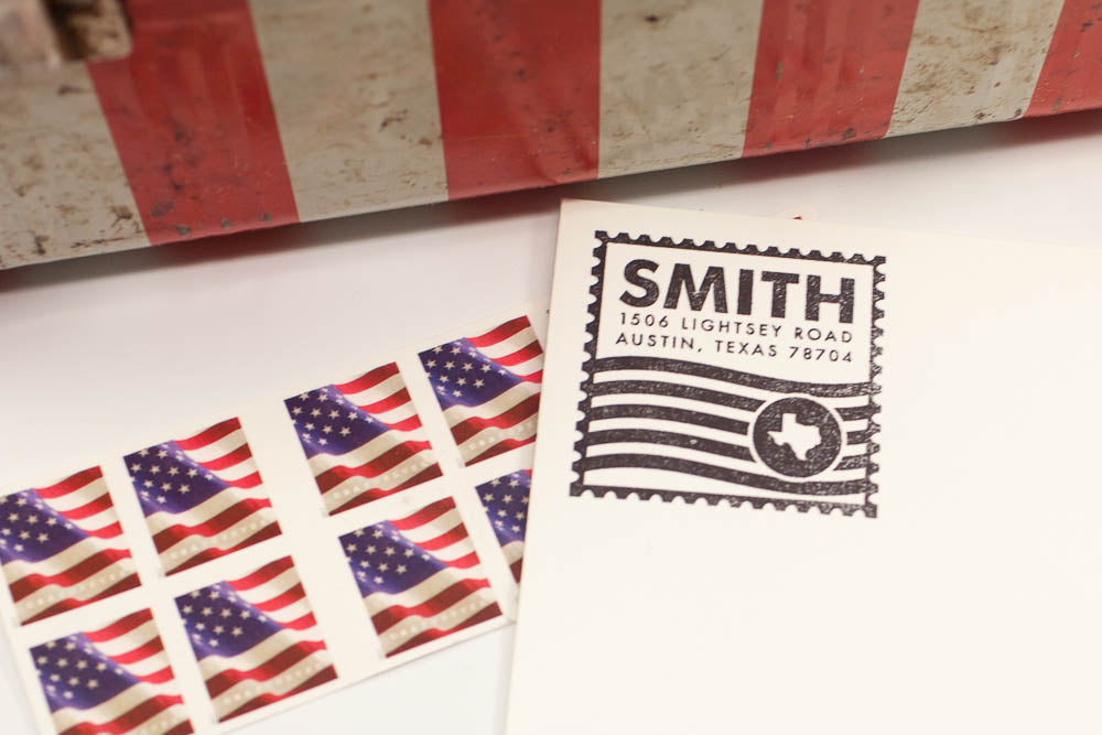 Mail Service - Custom Rubber Stamps