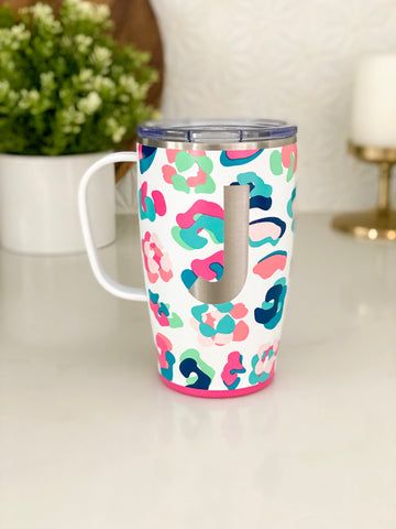 Animal Print Swig 18oz Insulated Coffee Mug