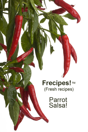 Frecipes!™ – Parrot Fruit Salsa! – Our Flocks Celebrate the New Year!
