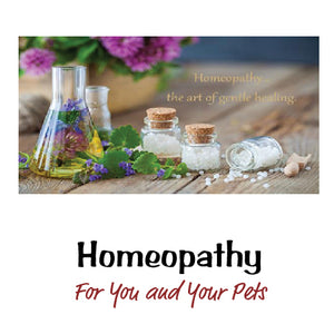 Homeopathy For You & Your Pet!