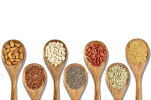 Seeds, Nuts, Grains, Legumes