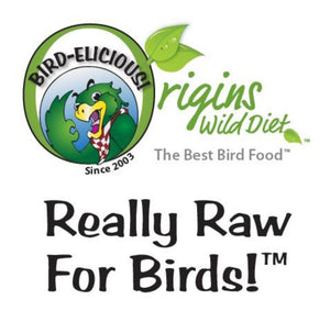 "INTRODUCING: Really RAW for Birds!™ (Our version of ""chop"")"