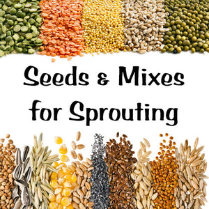 Seeds & Mixes to Sprout Yourself