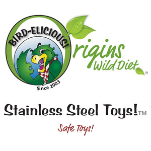 Stainless Steel Toys by The Best Bird Toys®