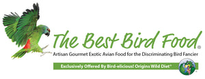 best bird food, organic bird food, chop, freeze dried chop, parrot food, raw bird food, avian whole raw nutrition, origins wild diet, birdelicious, bird-elicious