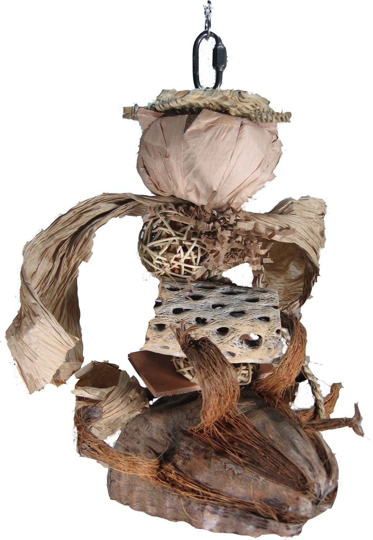 Rainforest Foragers Natural Bird Toy