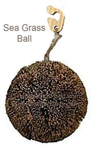 Sea Grass Ball Natural Bird Toy
