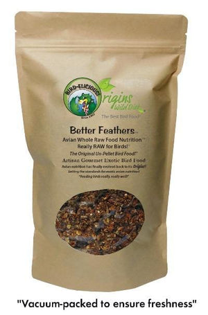Better Feathers™ for Feather Destroyer's - Step 2 - BirD-elicious! Origins Wild Diet® - 16 oz.