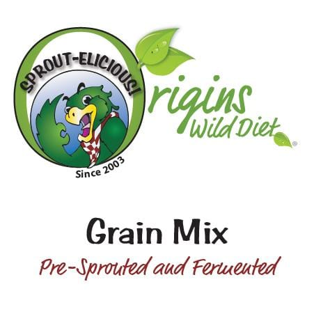 Sprout-elicious Grain Mix - pre sprouted and fermented for Exotic Birds