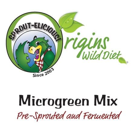 Sprout-elicious Microgreen Mix for Exotic Birds - pre sprouted and fermented