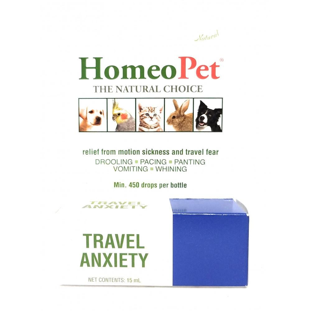 Travel Anxiety - Pets 15ml (Approx. 450+ drops per bottle)