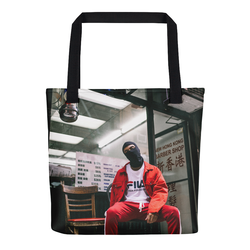 Hong Kong Barber Shop Tote Bag