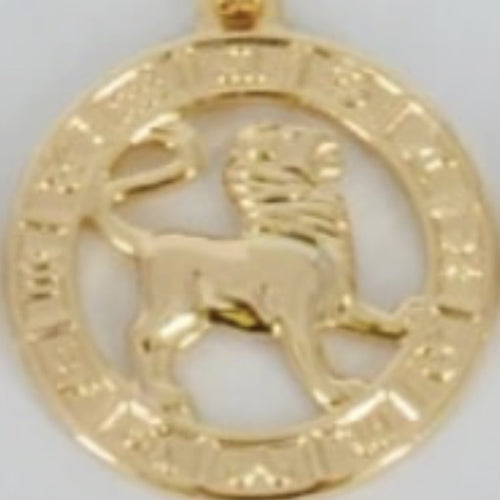Leo Zodiac necklace