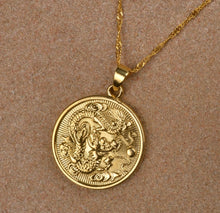 CIRCLE DRAGON MEDALLION
