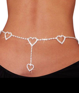 Queen of Heart's Crystal Belt